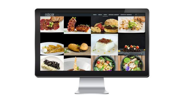 Creación de página web restaurante