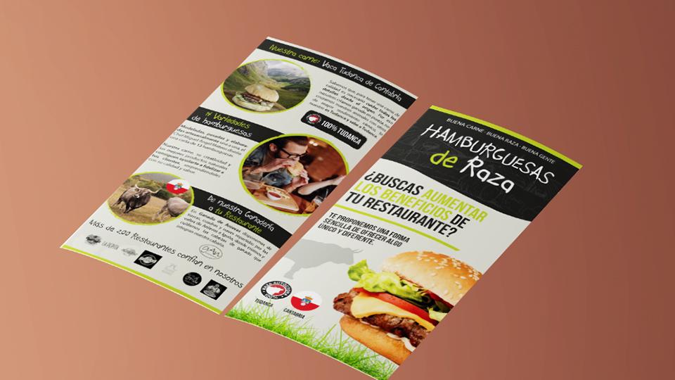 Diseño folleto Cantabria